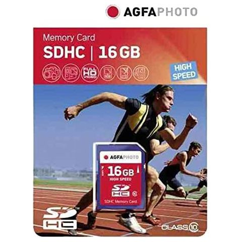 AGFA 16GB SDHC UHS-1 Class 10 Memory Card