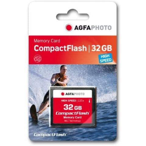 AgfaPhoto 32GB Compact Flash Memory Card