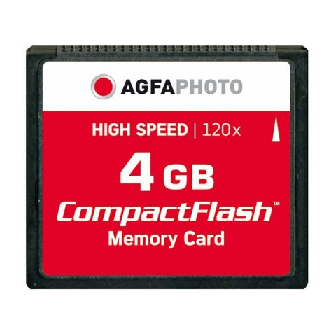 AgfaPhoto 4GB Compact Flash Memory Card