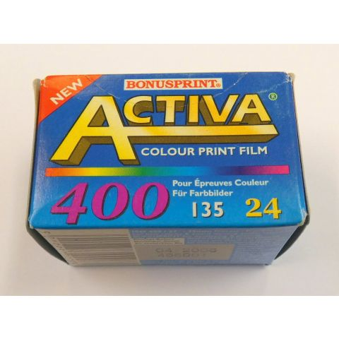 BONUSPRINT Activa 400-24exp Colour Print Film (Dated 04/2006)