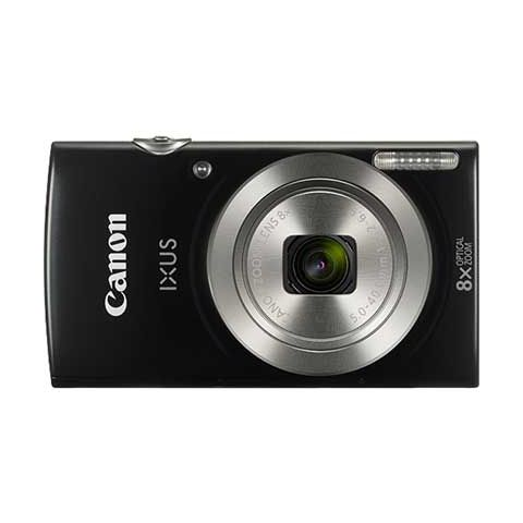 Canon IXUS 185 Compact Digital Camera (Black) - FREE UK DELIVERY