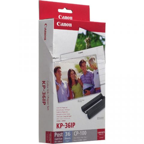 "Canon KP-36IP 6X4"" Paper & Ink Set"