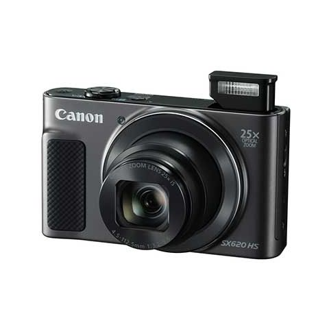 Canon PowerShot SX620 HS Compact Digital Camera (Black) - FREE UK DELIVERY