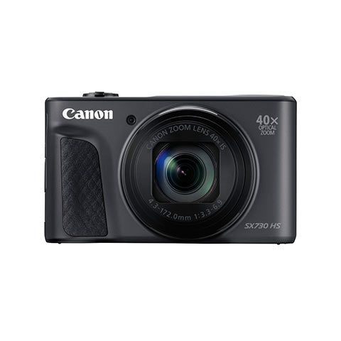 Canon PowerShot SX730 HS Digital Camera (Black) - FREE UK DELIVERY