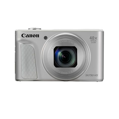 Canon PowerShot SX730 HS Digital Camera (Silver) - FREE UK DELIVERY