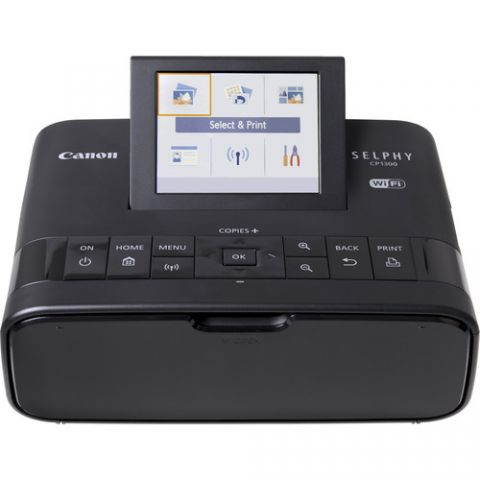 CANON SELPHY CP1300 Wireless Photo Printer (Black) - FREE UK DELIVERY