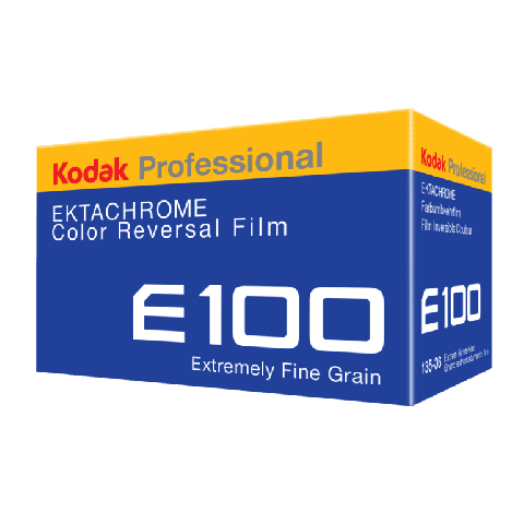 Kodak Professional Ektachrome E100 Colour Reversal 35mm Film