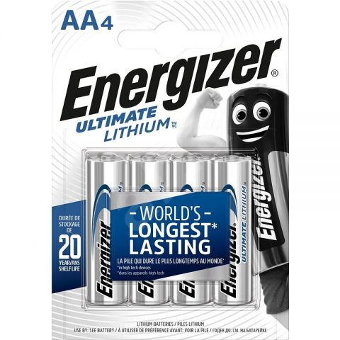 Energizer Ultimate Lithium AA Batteries (24 Pack)