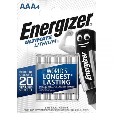 Energizer Ultimate Lithium AAA Batteries (12 Pack)