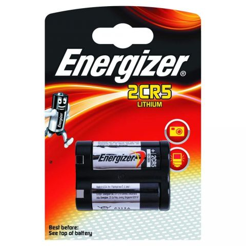 Energizer 2CR5 Lithium Battery (2 Pack)