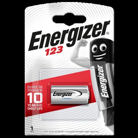 Energizer CR123 3V Lithium Battery (6 Pack)