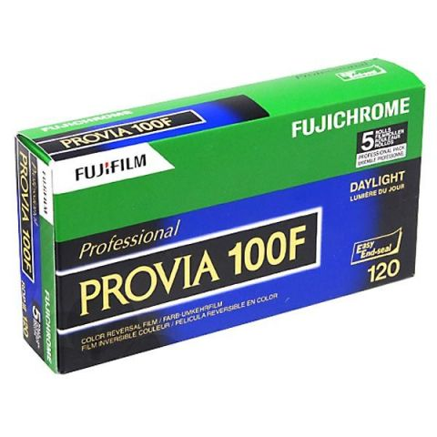Fuji Provia 100F 120 Roll Film (5 Pack)