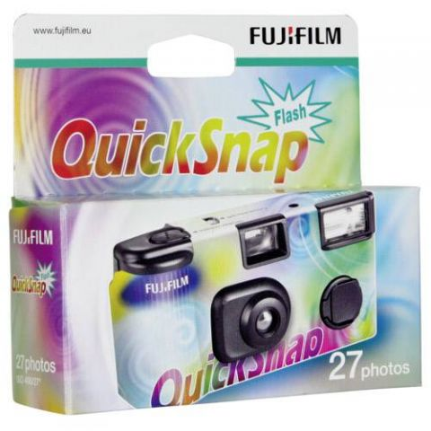 Fujifilm Quicksnap Flash 27 Disposable camera with Built-in flash