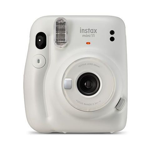 FUJIFILM INSTAX Mini 11 Instant Film Camera (Ice White)
