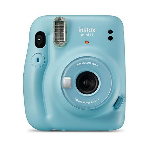 FUJIFILM INSTAX Mini 11 Instant Film Camera (Sky Blue)