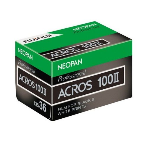 FUJIFILM Neopan 100 Acros II Black and White Negative Film 35mm - 36 Exposures