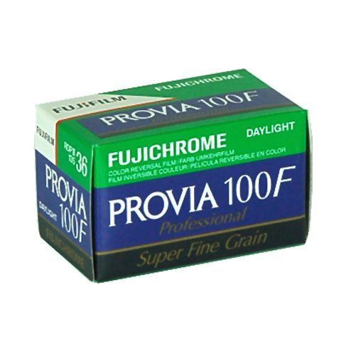 Fuji Provia 100F 36 Exposure 35mm Film (Dated09/21)