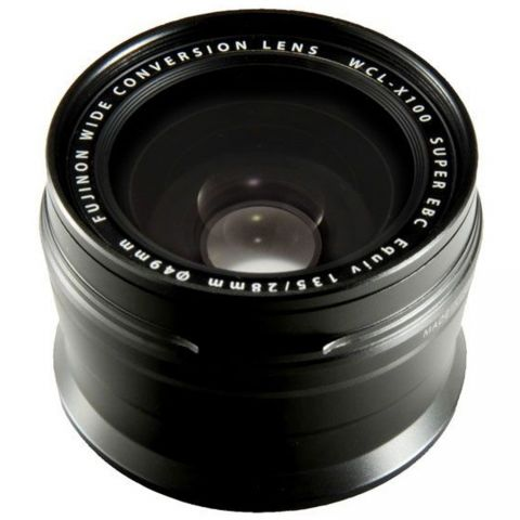 Fujifilm WCL-X100 II Wide Angle Lens - Black - FREE UK DELIVERY