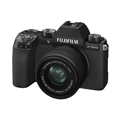 Fujifilm X-S10 Digital Camera with XC 15-45mm lens - FREE UK DELIVERY