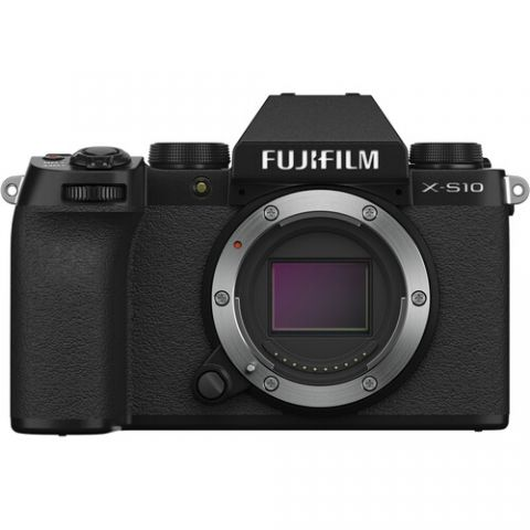 FUJIFILM X-S10 Mirrorless Digital Camera (Body Only) - FREE UK DELIVERY