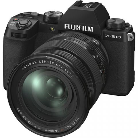 FUJIFILM X-S10 Mirrorless Digital Camera with 16-80mm Lens - FREE UK DELIVERY