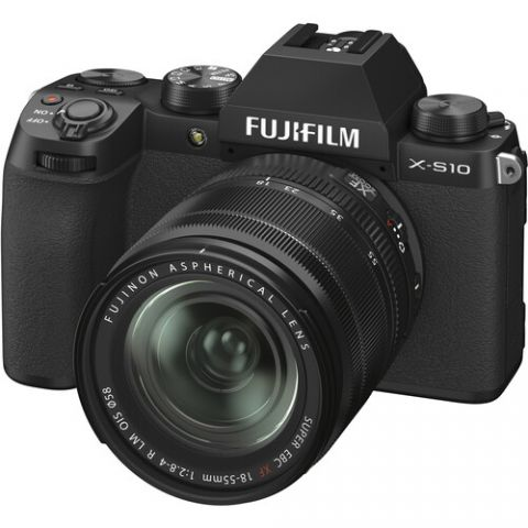 FUJIFILM X-S10 Mirrorless Digital Camera with 18-55mm Lens - FREE UK DELIVERY