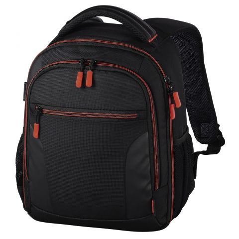 Hama Miami Camera Backpack, 150, black/red