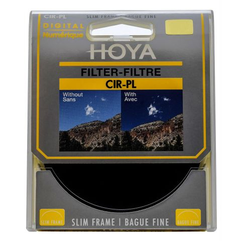 Hoya 62mm Slim Circular Polarising filter