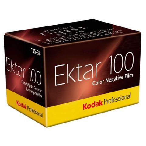Kodak Ektar 100 35mm - 36 Exp Film
