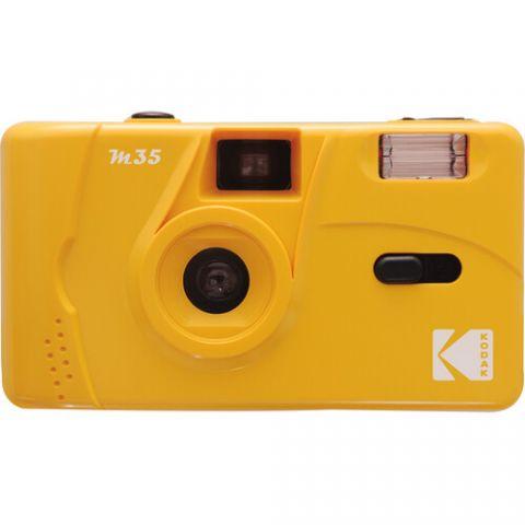 Kodak M35 35mm Film Camera with Flash (Yellow)