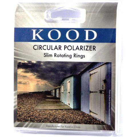 Kood 55mm Circular Polarising Slim Filter