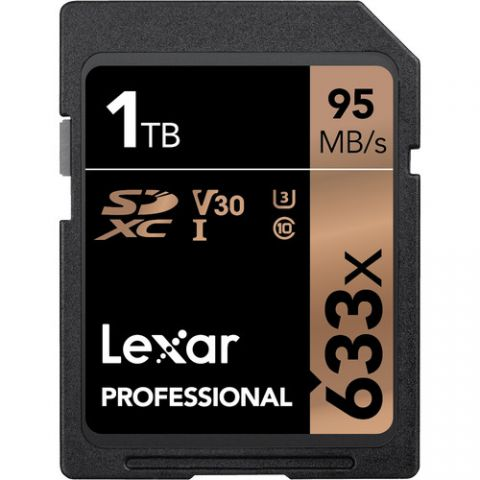 Lexar 1TB Professional 633x UHS-I SDXC Memory Card - FREE UK DELIVERY