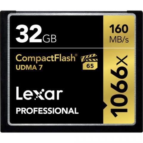 Lexar 32GB Professional 1066x CompactFlash Memory Card