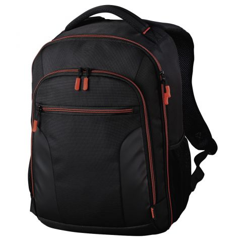 Hama Miami Camera Backpack, 190, black/red
