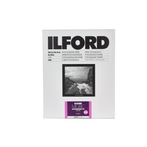 Ilford Multigrade RC Deluxe 10x8 100 Sheets Glossy
