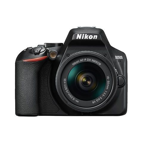 Nikon D3500 Digital SLR Camera with 18-55mm AF-P VR Lens - FREE UK DELIVERY