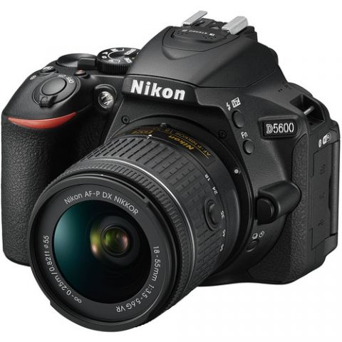 Nikon D5600 DSLR Camera with 18-55mm Lens - FREE UK DELIVERY