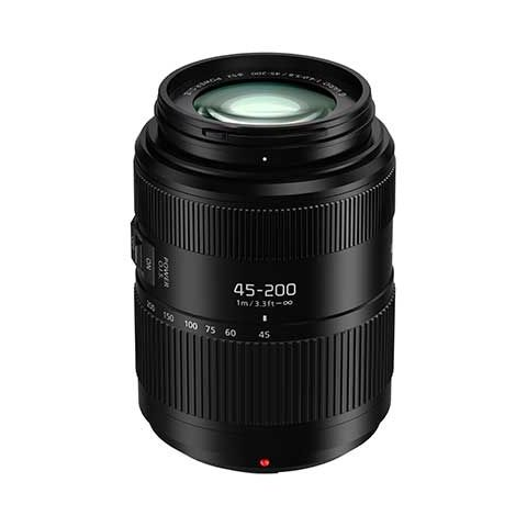 Panasonic Lumix G Vario 45-200mm f/4-5.6 II POWER O.I.S. Lens - FREE UK DELIVERY