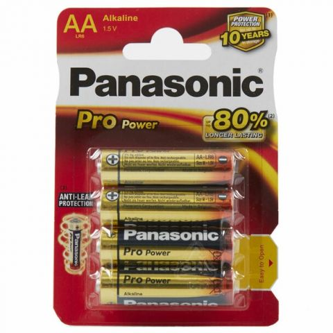 Panasonic Pro Power AA LR6 Batteries (12 Pack)