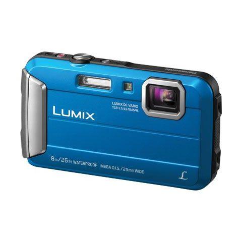 Panasonic Lumix DMC-FT30 (Blue) Digital Camera - FREE UK DELIVERY
