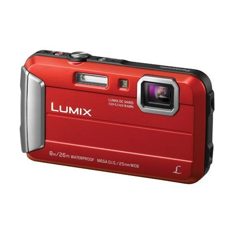 Panasonic Lumix DMC-FT30 (Orange) Digital Camera - FREE UK DELIVERY