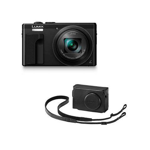 Panasonic Lumix TZ80 Digital Camera & Accessory Kit - Black - FREE UK DELIVERY