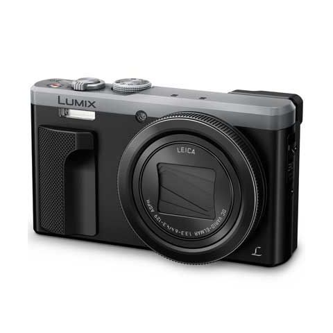 Panasonic Lumix TZ80 Digital Camera & Accessory Kit - Silver - FREE UK DELIVERY