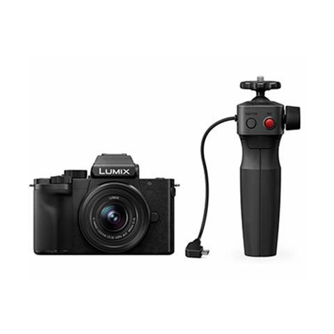 Panasonic Lumix DC-G100 Mirrorless Digital Camera with 12-32mm Lens and Tripod Grip Kit - FREE UK DELIVERY
