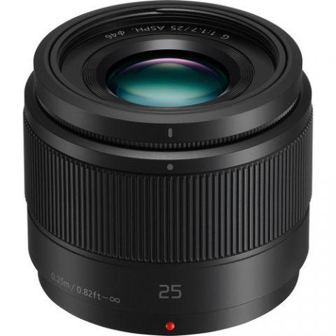 Panasonic Lumix G 25mm f/1.7 ASPH. Lens - FREE UK DELIVERY