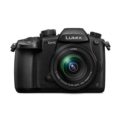 Panasonic Lumix GH5 Digital Camera with 12-60mm f3.5-5.6 Lens - FREE UK DELIVERY