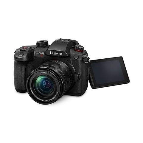 Panasonic Lumix GH5 Mk2 Digital Camera with 12-60mm f3.5-5.6 Lens - FREE Lexar 128Gb Pro U3 SD Card - FREE Panasonic 25mm f1.7 Lens - FREE Panasonic spare battery