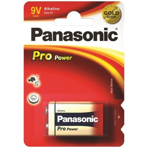 Panasonic Pro Power 9V PP3 6LR61 Battery (2 Pack)