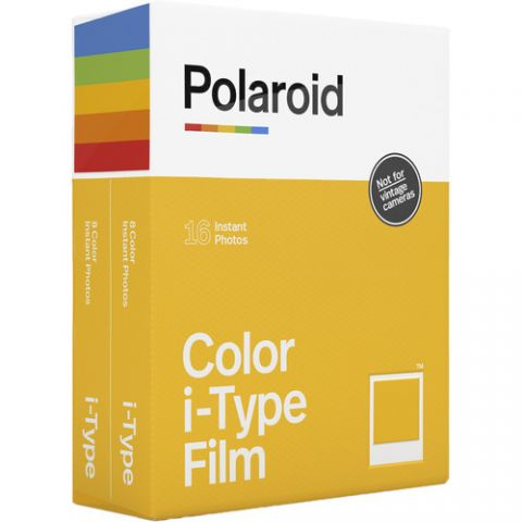 Polaroid Color i-Type Instant Film (Double Pack, 16 Exposures)