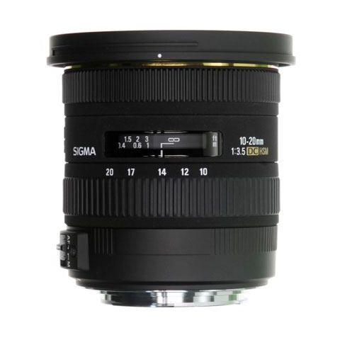 Sigma 10-20mm F3.5 EX DC HSM Lens - Canon Fit - FREE UK DELIVERY